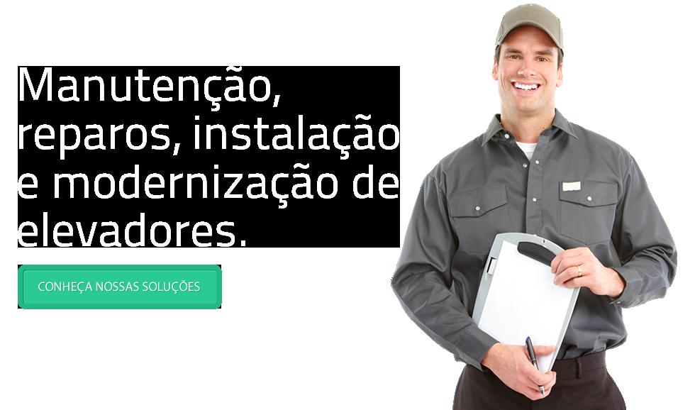 Manutenção, reparos, instalação e modernização de elevadores