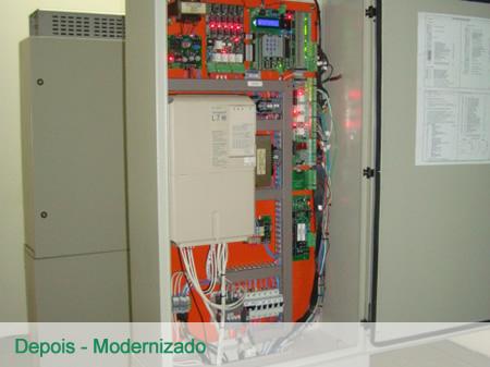 Modernização - Depois
